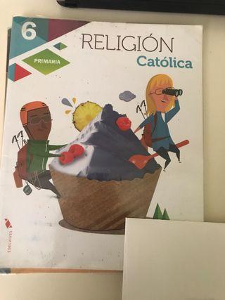 Libro Religion 6 Edelvives.