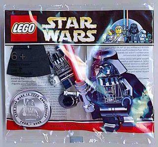 Polybag LEGO Star Wars - DARTH VADER CHROME BLACK