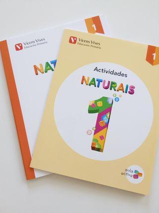 Libro y cuadernillo Naturais