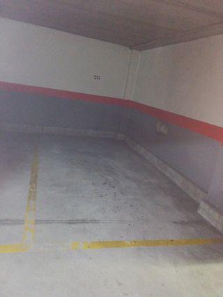 Garaje en alquiler en Valladolid