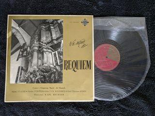 """Disco de vinilo """"Requiem de Mozart"""""""