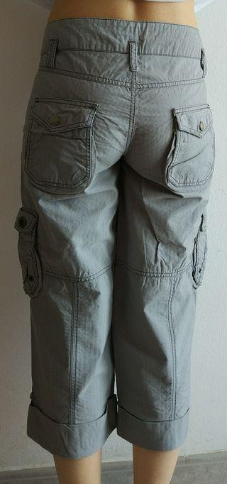 Corsario En De Mano 38 Por Zara Segunda Talla Mujer 10 Pantalón € dqwCPgdF 968a60c366f