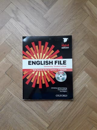 "Libro Inglés English File ""StudentsBook"""