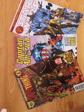 Set tres comics antiguos