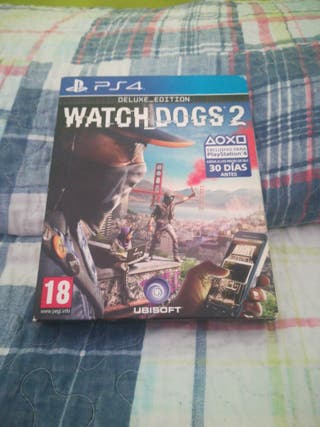 whatch dogs 2 ps4 deluxe edition