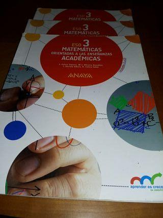 Libros 3°ESO Matemáticas