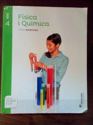 Llibre Física y Química 4 ESO Ed. Santillana