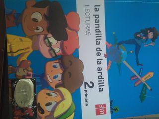 libro escolar de lectura segundo primaria