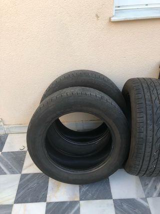 4 ruedas continental 255/55/19 90%