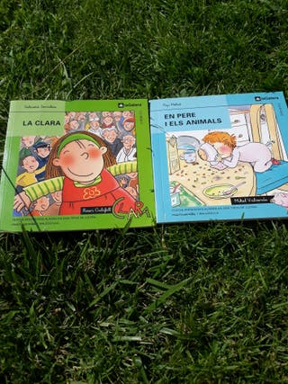 Llibres lletra lligada i lletra de pal