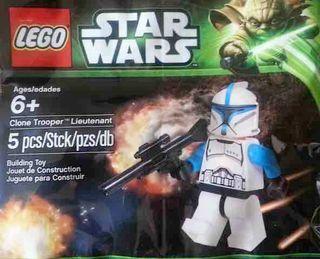 Polybag LEGO Star Wars - CLONE TROOPER LIEUTENANT