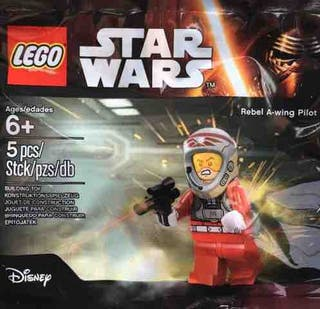 Polybag LEGO Star Wars - REBEL A-WING PILOT