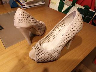 Zapatos mujer color maquillaje talla 36