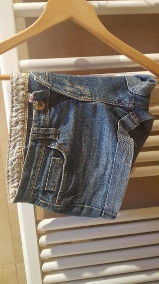 pantalon corto vaquero 38