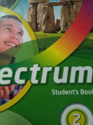 Libro Spectrum 2, student book