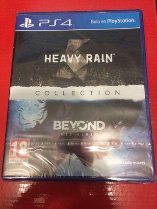 Heavy Rain Beyond 2 souls ps4 sin estrenar