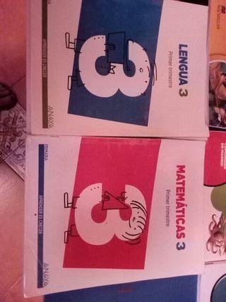 libros de texto tercero de primaria