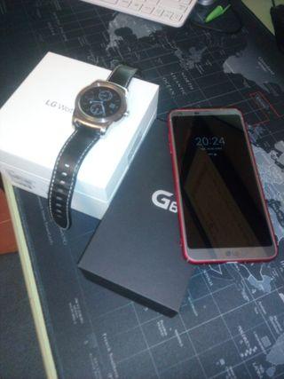 Lg G6 96Gb + lg watch Urbane