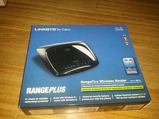 Router Linksys Rangeplus