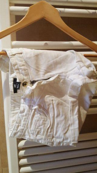 pantalon blanco vaquero