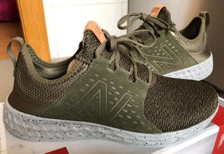 Zapatillas New Balance Fresh Foam Cruz verdes
