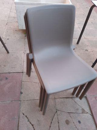 sillas bar o terraza