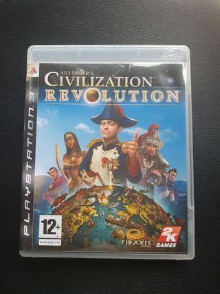 Juego ps3 civilization revolution