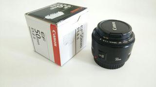 Objetivo Canon 50mm f/1.8 II