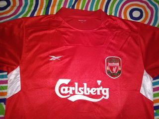 Camiseta Liverpool Reebok Camiseta Futbol Futbol TqYPa8T
