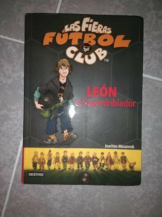 Libro:Las fieras fútbol club.Leon elsuperdriblador