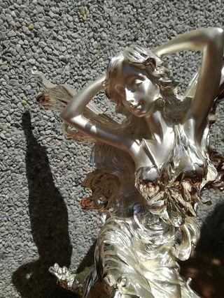 Hada figura decorativa plaqué de plata Spaliú