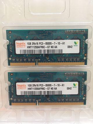 2Gb DDR3 memoria para Mac