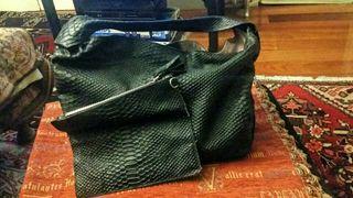 4 bolsos de calidad en piel