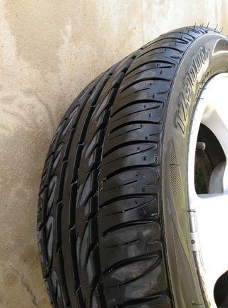 Llantas aluminio Seat + neumáticos nuevos ruedas