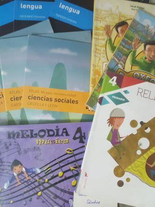 libros texto 4° Y 5° primaria