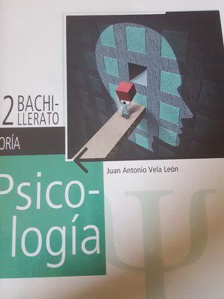 PSICOLOGÍA 2°BACH. (LIBROS DE TEORÍA Y PRÁCTICA)