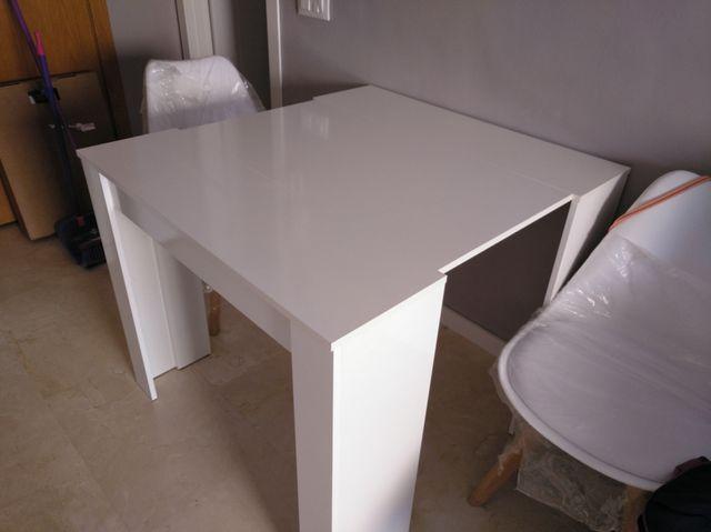 Mesa de comedor consola extensible de segunda mano por 130 € en ...