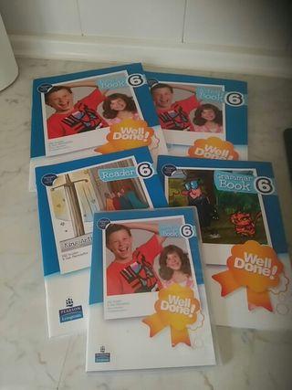 libros ingles 6 de primaria