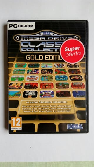 Megadrive Collection Gold Edition