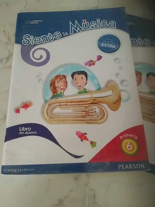 libro de musica 6 de primaria