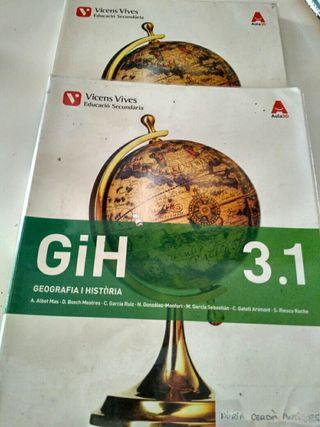 libro Geografia i història 3 Eso Vicens Vives