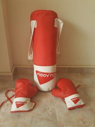 saco de boxeo niño