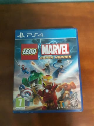 Lego Marvel Super Héroes PS4