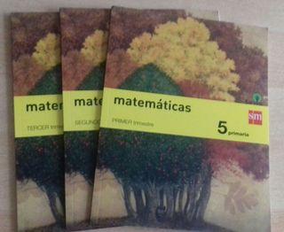 libros nuevos matemáticas 5 primaria