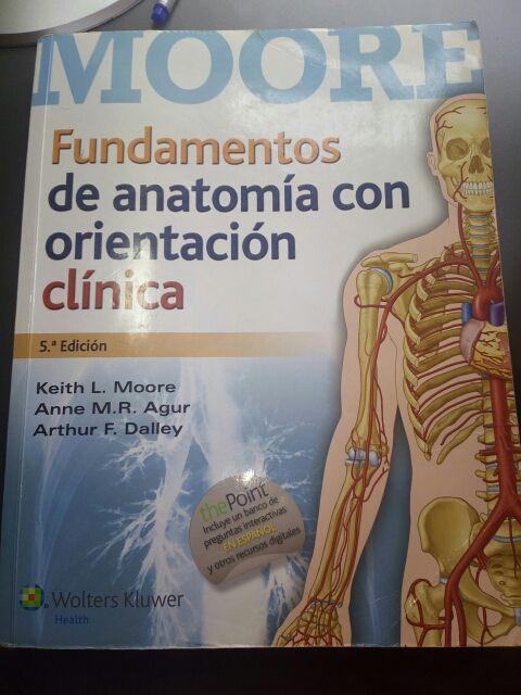 Libro fundamentos de anatomia de segunda mano por 35 € en Madrid en ...