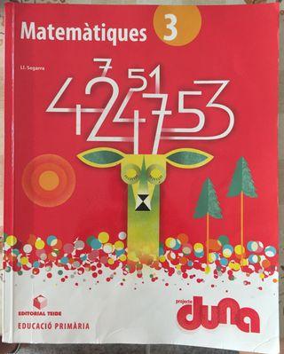 Matemàtiques 3