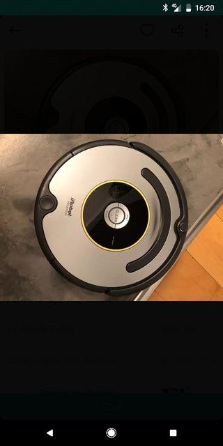 robot roomba aspirador 616