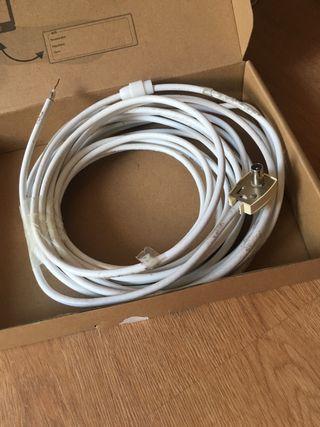 Cable axial de antena