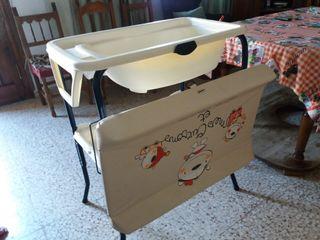 canbiador bañera para bebes