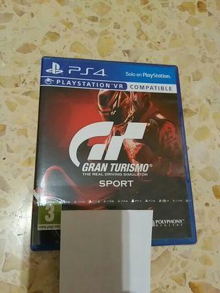 Juego Gran Turismo Sport Ps4 Nuevo